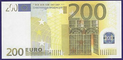 €200 EURO SOUVENIR BANKNOTE 1 pack for Prank & TV/Movie - Full Print, Looks Real