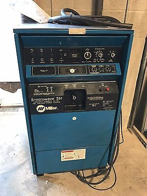 One Pristine Genuine OEM Miller Syncrowave 351 AC/DC Welding Power Source A Deal