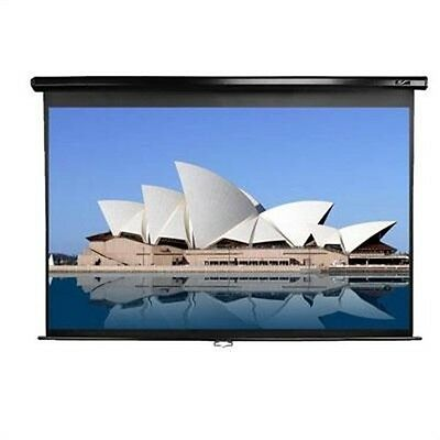"150"" Manual Pull down Screen, by Elitescreens, (150"" diagonal, 4:3 formatted ma)"