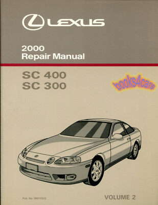 lexus sc400 manual
