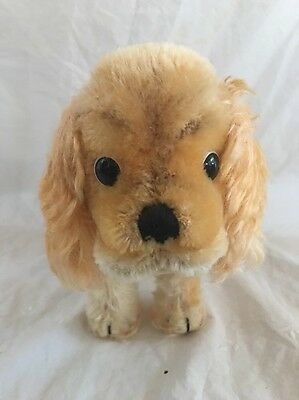 Steiff Cocker Spaniel Stuffed Mohair Hair Dog