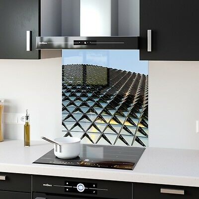High Quality Glass Kitchen Splashback  4K Abstract Sky p24019 60x65cm