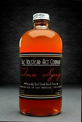 The Volstead Act Naturally Red Peruvian Tonic Syrup 473ml
