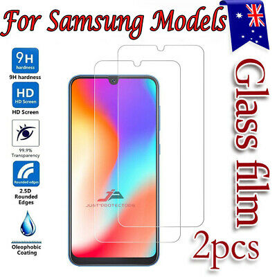 2x For Samsung Galaxy A20 A30 A50 A70 A71 A90 Tempered Glass Screen Protector