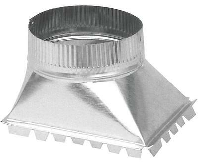 Imperial GV0959 DUCT SIDE TAKE-OFF 6 in Dia 30 ga Galvanized CONDUIT PIQUAGE