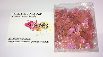 Pink Rainbow Shine 6mm Sequins 15g Craft Crafting
