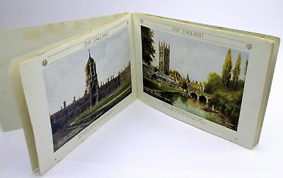 1940s Postcard Format Booklet - THIS ENGLAND - 66 Pages All Color Illustrations