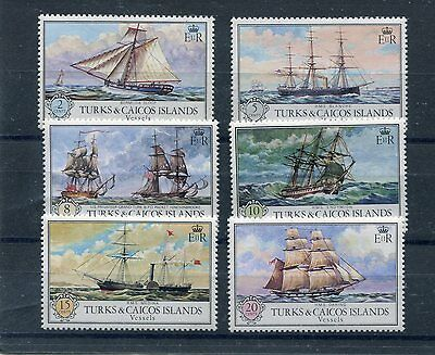 turks and caicos 1973 battelli antichi ancient boats 305-10 MHN