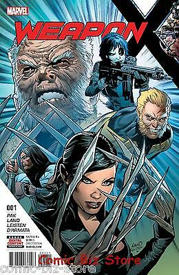 Weapon X #1 (2017) 1St Printing Bagged & Boarded