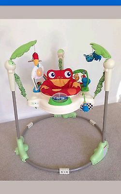 Fisher-price Rainforest Jumperoo baby bouncer -good condition