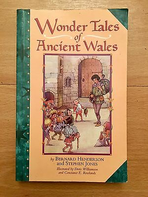 Wonder Tales Of Ancient Wales Book Short Stories Myth Legend Fables British