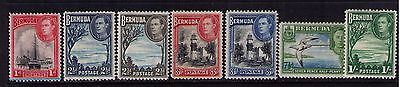 BERMUDA STAMPS SC# 119/122 Selection MH/USED