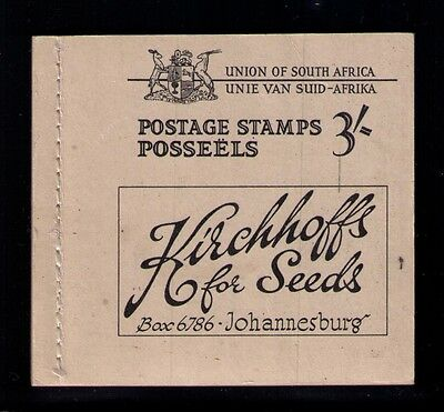 South Africa Complete Mnh Scarce Booklet ,6 Panes Cat.$200