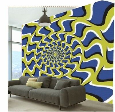 Sensory Room Optical Wall Paper Adht Autism Asperges Relaxation