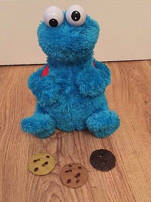 Sesame Street Count & Crunch Cookie Monster Talking & Moving Interactive Toy