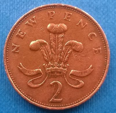 1971 2p coin (New Pence) rare