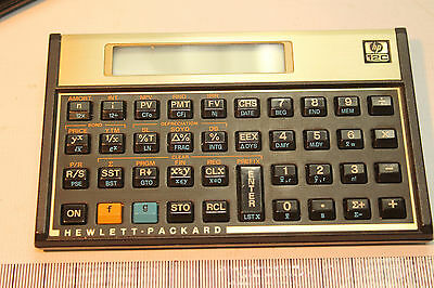 HP 12C Financial Calculator in Very Good Condition