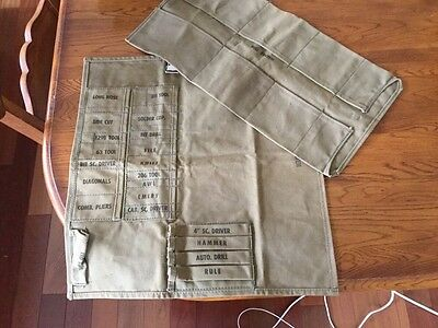 vintage Bell system B tool organizers, 311 tool, 129b tool, Stitched Canvas