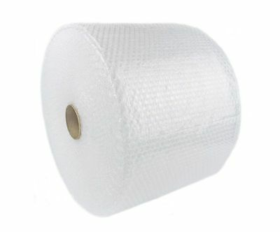 """Bubbles 250 ft 1/2""""x12"""" Perforated Large Bubble Padding Wrap Roll Packaging 1/2"""""""