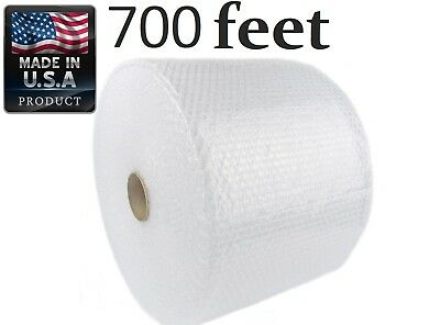 """Bubble +  Wrap Small Medium 700 ft 3/16"""" Shipping Roll Perforated 12 Width"""