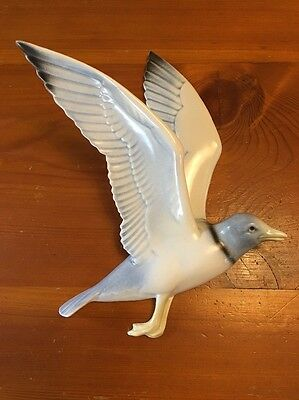Poole Pottery England Flying Seagull Hand Made And Decorated