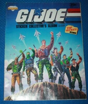 Diamond G.I. Joe Sticker Collector Album
