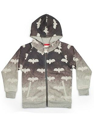 PAPER WINGS Boys Bat Art Classic Hoodie 5 Sies Available Brand New