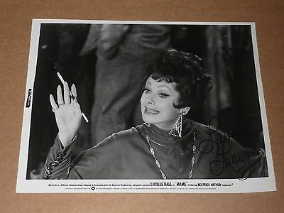 "Lucille Ball 10 x 8 ""Mame"" 1974 US Film Still (Hand Signed)"
