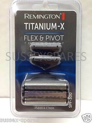 Remington Titanium X Spf300 Foil & Cutter, F4900 F5800 F7800, Flex And Pivot