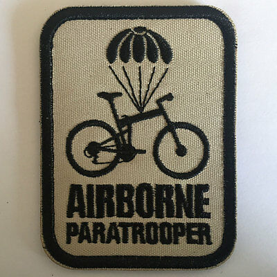 Airborne Paratrooper American US Military Tactical Morale Decorative Badge Patch
