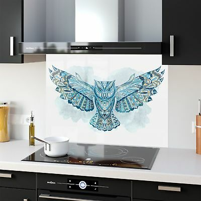 Kitchen Splashback Toughened Glass Heat Resistant Totem Owe 44179464 90x65cm