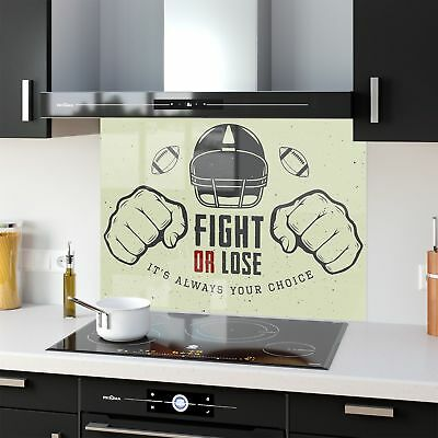 Colour Range Kitchen Glass Glass Splashback Motivation 46551725 90x65cm