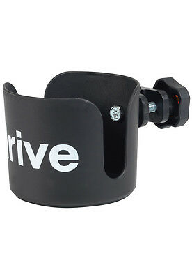 Drive Medical Universal Wheelchair Cup Holder - Black