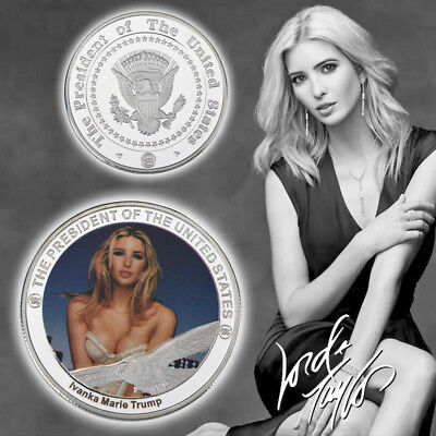 WR US American Ivanka Trump New Design Best Silver Dollar Coin Value Collectible