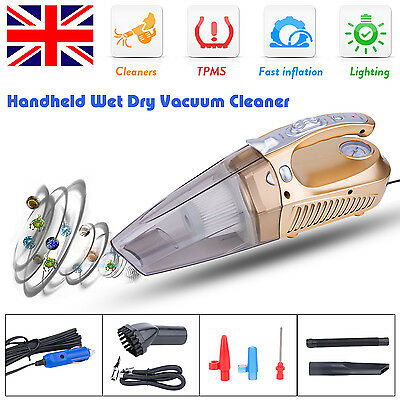 Portable Handheld Auto Vac Car Vacuum Cleaner Hand Held Home Hoover 12V 120W