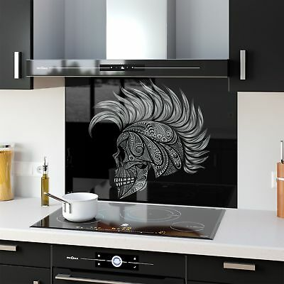 Kitchen Splashback Toughened Glass Heat Resistant Abstract Art 61098412 90x65cm