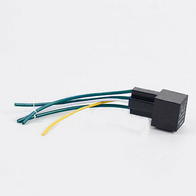 New Car 40A AMP DC 12V Relay Kit SPDT For Fan Fuel Pump Light Horn 5Pin 5 Wire