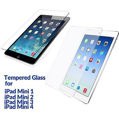 Anti Scratch Tempered Glass Film Guard Screen Protector for iPad Mini 4 3 2 1 AU