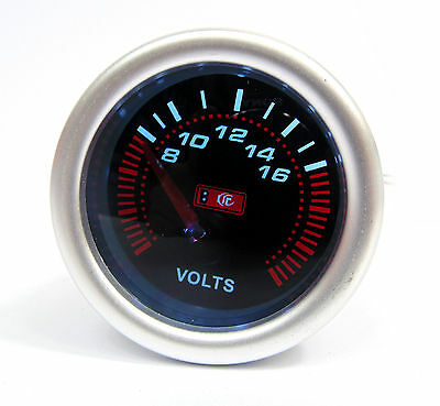 52mm Smoked Face Volt Meter / Voltage gauge Honda Civic Prelude S2000 CRX Accord