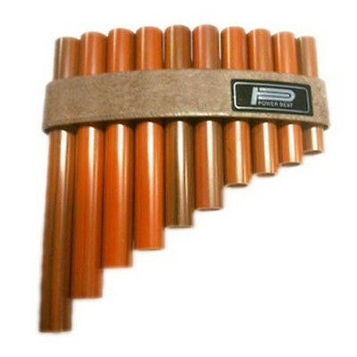 PAN FLUTE 10 Note Modern version of an ancient traditional instrument. Pipes