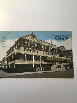 Old Postcard Atlantic City NJ Merger Hospital House For Invalid Women Historical