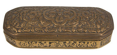 Burma 19. Jh. Messing Dose - A Burmese Brass Betel Box - Scatola Birmano Birman