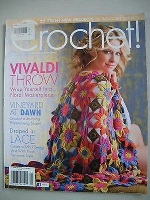 Crochet Magazine -  Spring 2013 - Tops Shawls Scarves Throws