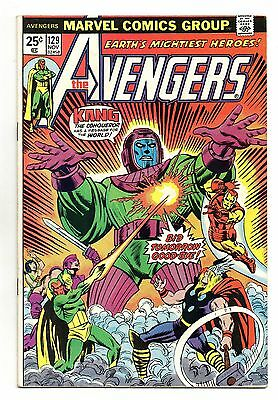 Avengers Vol 1 No 129 Nov 1974 (VFN-) Marvel, Bronze Age (1970 - 1979)