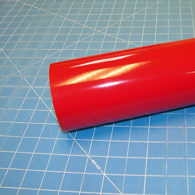 "Red Oracal 751 (1) Roll 12"" X 10' Sign Cutting Vinyl"