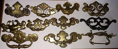 Lot of Chippendale Pulls Bail-Pulls Dresser Cabinet Handles Brass Salvage   #C35