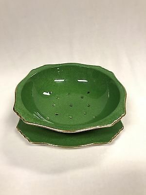 Royal Winton Grimwades Green Vegetables Washer And Plate