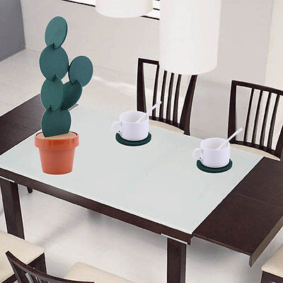 Creative Cork Insulation Cute Novelty Cactus Cup Mat Pad Set Table Decoration P6