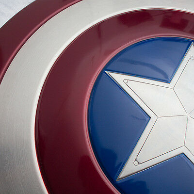 FULL Metal Captain America Shield 1/1  Prop Replica with Stand NEW IN STOCK