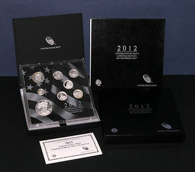 2012 United States US Mint Limited Edition Silver Proof Set *** FREE SHIPPING!